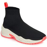 Zapatos Mujer Zapatillas altas André HARUNA Negro