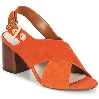 Zapatos Mujer Sandalias André JANNINE Naranja