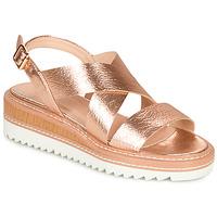 Zapatos Mujer Sandalias André EULALIE Oro