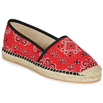 Zapatos Mujer Alpargatas André HADRIANA Rojo