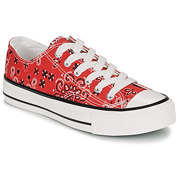Zapatos Mujer Zapatillas bajas André HAPPY Rojo