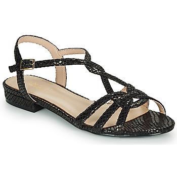 Zapatos Mujer Sandalias André JONETTE Negro
