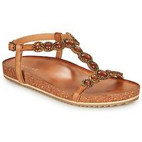 Zapatos Mujer Sandalias André ETHEL Camel
