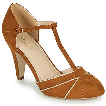 Zapatos Mujer Zapatos de tacón André JULIETTE Camel