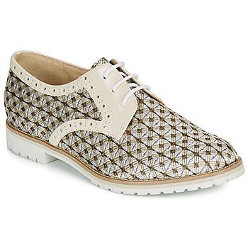 Zapatos Mujer Derbie André DERIVEUR Beige