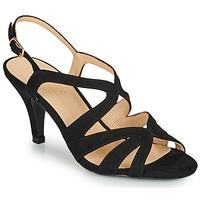 Zapatos Mujer Sandalias André JU Negro