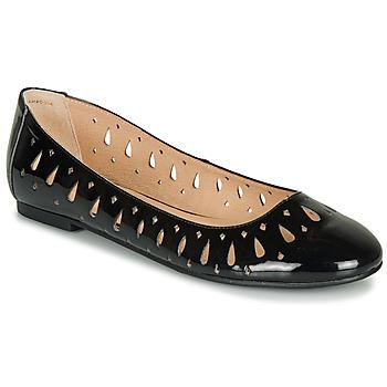 Zapatos Mujer Bailarinas-manoletinas André JENNY Negro / Barniz