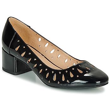 Zapatos Mujer Bailarinas-manoletinas André JOZEFA Negro / Barniz