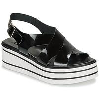 Zapatos Mujer Sandalias André ELVIA Negro