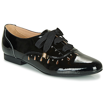 Zapatos Mujer Derbie André JUNIA Negro / Barniz