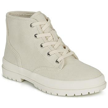Zapatos Mujer Zapatillas altas André HANDE Beige
