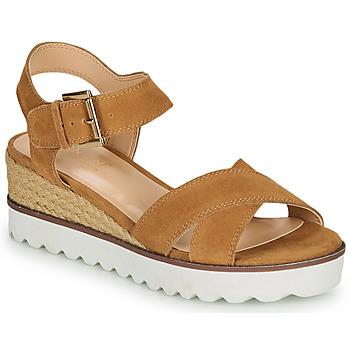 Zapatos Mujer Sandalias André EMILIA Camel