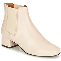 Zapatos Mujer Botas de caña baja André ECLAIRCIE Blanco