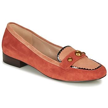 Zapatos Mujer Mocasín André L ACROBATE Rosa