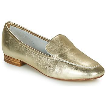 Zapatos Mujer Mocasín André JAELLE Oro