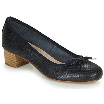 Zapatos Mujer Bailarinas-manoletinas André POEME Marino