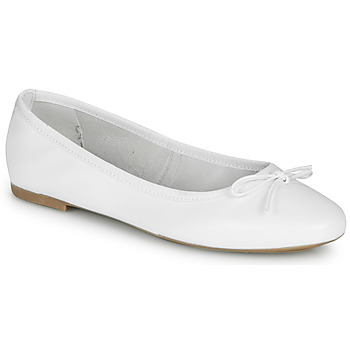 Zapatos Mujer Bailarinas-manoletinas André PIETRA Blanco