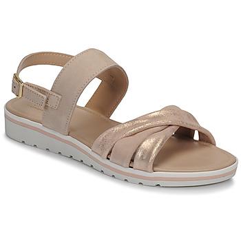 Zapatos Mujer Sandalias André POLINE Nude