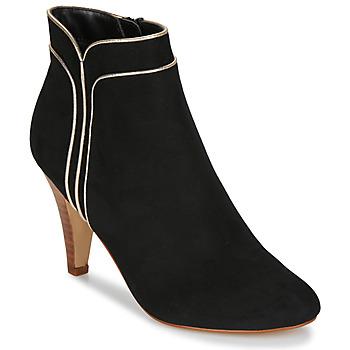 Zapatos Mujer Botines André JUNO Negro