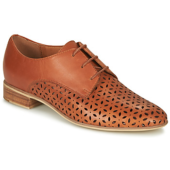 Zapatos Mujer Derbie André BARNA Camel