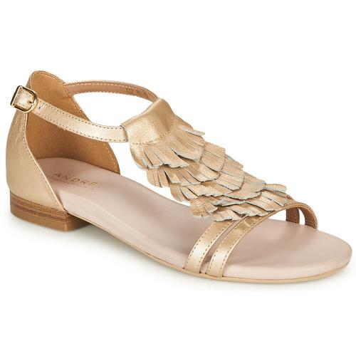 Zapatos Mujer Sandalias André BRIANA Oro