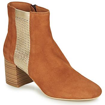 Zapatos Mujer Botas de caña baja André BINDY Camel