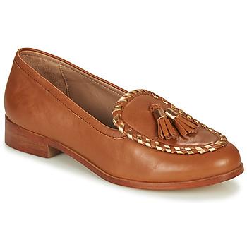 Zapatos Mujer Mocasín André BRETTA Camel