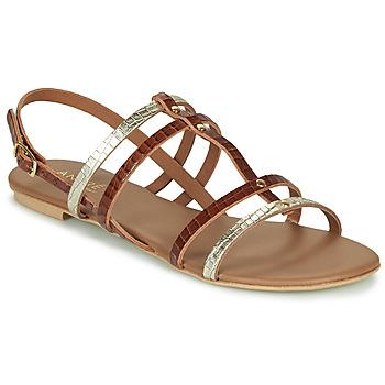 Zapatos Mujer Sandalias André MANDIE Camel