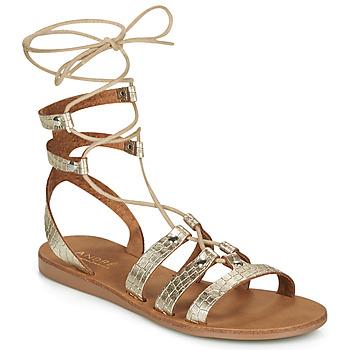 Zapatos Mujer Sandalias André BEA Oro