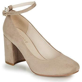 Zapatos Mujer Zapatos de tacón André LAURIA Beige