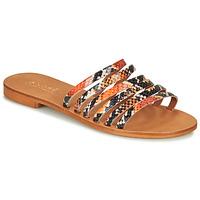 Zapatos Mujer Sandalias André BRAIDINE Naranja