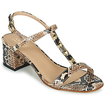Zapatos Mujer Sandalias André BERMUDES Beige