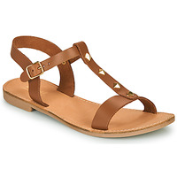 Zapatos Mujer Sandalias André DOMINOU Camel