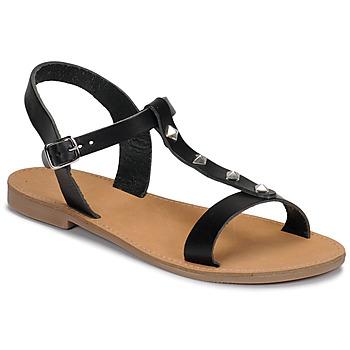 Zapatos Mujer Sandalias André DOMINOU Negro