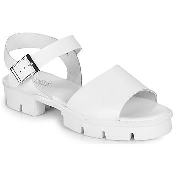 Zapatos Mujer Sandalias André ABRICOT Blanco