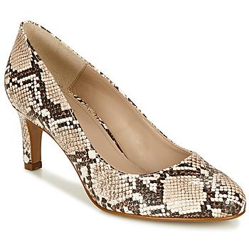 Zapatos Mujer Zapatos de tacón André POMARA 2 Beige