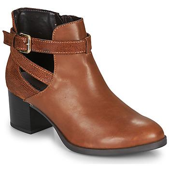 Zapatos Mujer Botines André BETIANA Camel