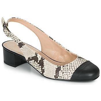 Zapatos Mujer Bailarinas-manoletinas André POEMETTE Beige