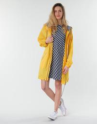 textil Mujer parkas Petit Bateau SHINE Amarillo