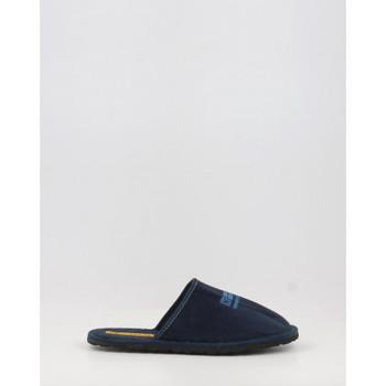 Zapatos Mujer Pantuflas Nordikas 535 azul bleu