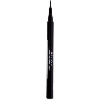 Belleza Mujer Lápiz de ojos Revlon Colorstay Sharp Line Eye Liner Waterproof black 1 u