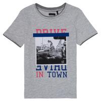 textil Niña Camisetas manga corta Ikks AMELIE Gris / China