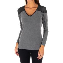 textil Mujer túnicas Rossoporpora Camiseta exterior m/larga Gris