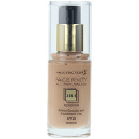 Belleza Mujer Base de maquillaje Max Factor Facefinity All Day Flawless 3 In 1 Foundation 80-bronze 30 ml