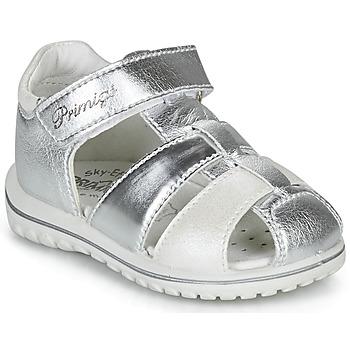 Zapatos Niña Sandalias Primigi 5365555 Plata