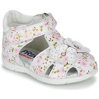 Zapatos Niña Sandalias Primigi 5401300 Blanco / Rosa