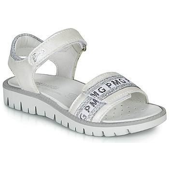 Zapatos Niña Sandalias Primigi 5386700 Blanco / Plata