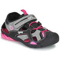 Zapatos Niña Sandalias de deporte Primigi 5460011 Negro / Rosa