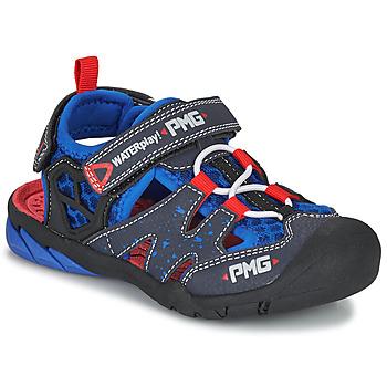 Zapatos Niño Sandalias de deporte Primigi 5460111 Azul / Rojo