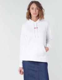 textil Mujer sudaderas Levi's RAPHIC SPORT HOODIE BABY TAB HOODIE Blanco